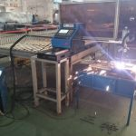 Metal CNC plasma cutter machine, with both plasma and flame cutting