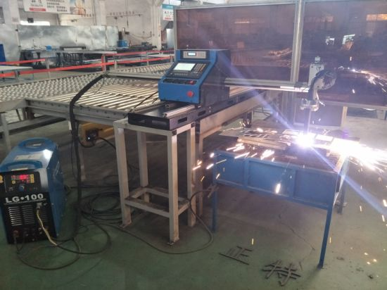 High precision Hiwin square rail plasma cutter 1300*2500mm aluminum sheet cnc plasma cutting machine Huayuan 65A plasma power