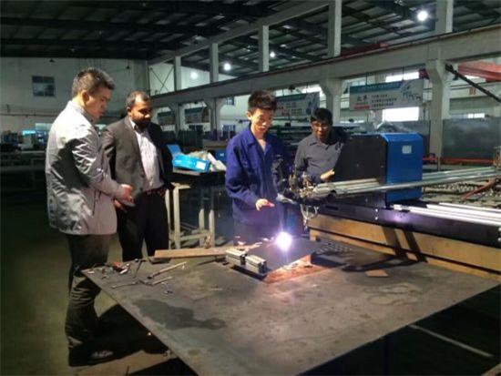 CNC plasma and flame portable cutting machine