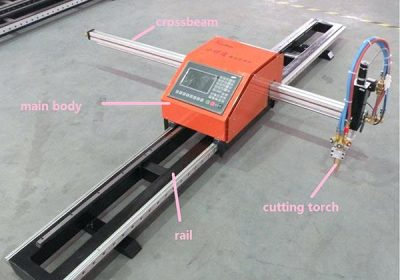metal portable cnc plasma and flame cutting machine plasma cutter 1530