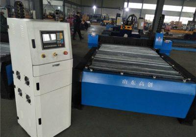 CE standard1000*1500mm 3 axis cnc plasma cutting machine